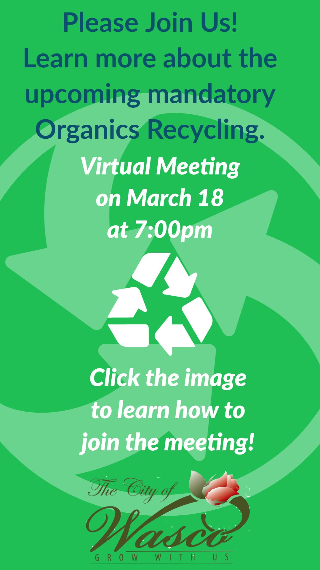 Community Recycle Meeting (PDF)