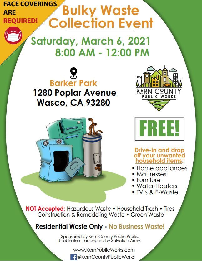 Bulky Waste Collection Event (PDF)